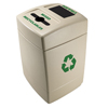 Commercial Zone Products 55 Gallon Mixed Recyclables & Waste Recycling Station CZP 745510