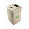 Commercial Zone Products Recycle 55 Gallon Trash and Recycling Containe CZP 745710