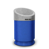 Commercial Zone Products Galaxy Series 30-gallon Waste Receptacle Blue Base/Comet Gray Lid CZP 7531444099