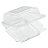 plastic containers: Dart - StayLock® Clear Hinged Lid Containers