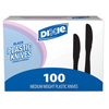 plastic cutlery: Dixie® Heavy-Medium Weight Knife Tableware