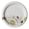 "disposable dinnerware: Dixie - Pathways™ 6.875"" Paper Plates WiseSize"