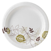 "disposable dinnerware: Dixie - Pathways™ 8.5"" Paper Plates"