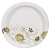 "disposable dinnerware: Pathways™ 8.5"" Paper Plates Wise Size"