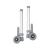"Samsonite-crutches-walkers: Drive Medical - Rear Glide Walker Brakes w/3"" Wheels"