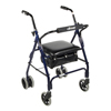 Drive Medical Mimi Lite Push Brake Rollator Walker 510