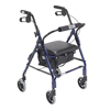 Drive Medical Mimi Lite Flame Blue Rollator Walker 544