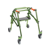 Walkers: Drive Medical - Junior Nimbo Rehab Lightweight Lime Green Posterior Posture Walker w/Seat
