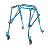 Walkers: Drive Medical - Youth Nimbo Rehab Lightweight Cornflower Blue Posterior Posture Walker