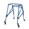 Samsonite-crutches-walkers: Drive Medical - Young Adult Nimbo Rehab Lightweight Midnight Blue Posterior Posture Walker