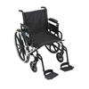 Wheelchairs: Drive Medical - Viper Plus GT Wheelchair with Flip Back Removable Adjustable Arm