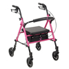 double markdown: Drive Medical - Breast Cancer Awareness Pink Adjustable Height Rollator