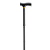 "canes & crutches: Drive Medical - Lightweight Adjustable Black Folding Cane w/""T"" Handle"