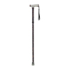 canes & crutches: Drive Medical - Paisley Black Folding Canes w/Glow Gel Grip Handle