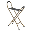 canes & crutches: Drive Medical - Folding Lightweight Cane w/Sling Style Seat