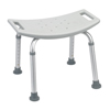 Stoko-gray: Drive Medical - Grey Bathroom Safety Shower Tub Bench Chair