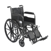 Wheelchairs: Drive Medical - Silver Sport 2 Wheelchair w/Elevating Foot Rest