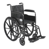Wheelchairs: Drive Medical - Silver Sport 2 Wheelchair w/Swing Away Footrest