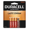 aaa batteries: Duracell® Quantum Alkaline Batteries with Power Preserve Technology™
