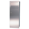 waste receptacles: Frost Products Ltd. - Wall Mounted Fully Recessed Waste Receptacle