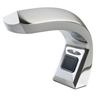 Stoko-touch-free-system: Frost Products Ltd. - Counter Mounted Brass Hands-Free Foam Soap Dispenser