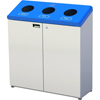 Recycling Containers: Frost Products Ltd. - Floor Standing 3 Stream Recycling Station
