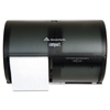 Paper Product Dispensers Bathroom Tissue Dispensers: Georgia Pacific Compact® Coreless Side-by-Side Double Roll Covered Tissue Dispenser