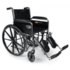 "Wheelchairs: GF Health - Traveler® SE Wheelchair, 18"" x 16"" with Fixed Full Arm, Swingaway Footrest"