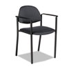 Global Global Comet™ Series Stacking Arm Chair GLB 2171BKPB04