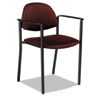 Global Global Comet™ Series Stacking Arm Chair GLB 2171BKPB07