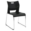 Global Global Duet™ Series Stacking Chair GLB 6621CHBLK