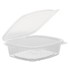 plastic containers: Genpak - Plastic Hinged-Lid Deli Containers