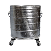 rubbermaid 30 gallon bucket: Geerpres - Galvanized Steel Mop Bucket