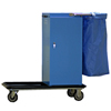 Janitorial Carts, Trucks, and Utility Carts: Geerpres - Escort® Epoxy Coated Housekeeping Cart