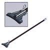 Geerpres Featherweight™ Vinyl Covered Aluminum Mop Handle w/Electroplated Holder GPS 4060-1