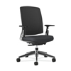 hon chairs: HON - Lota Mesh Mid-Back Task Chair with Weight Activated Tilt & Polished Finish