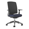 chairs & sofas: HON - Lota Mesh Mid-Back Task Chair with Weight Activated Tilt & Polished Finish