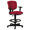 hon chairs: HON - Volt® 5705 Series Task Stool with Arms and Adjustable Footring