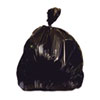 "recycling and trash liners: Heritage Bag® Repro Can Liners - 33"" x 39"", Black"