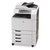 multifunction office machines: HP Color LaserJet CM6040f All-in-One Laser Printer
