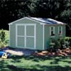 Handy Home Products Cumberland - 10' x 16' Storage Building With Floor Kit HHS 18286-0