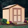 storage shed: Handy Home Products - Kingston - 8' x 8' Storage Building Kit