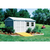 Handy Home Products Premier Series - Somerset 10 x 18 Storage Building With Floor Kit HHS 18417-8