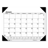 folders and binders and planners: House of Doolittle™ One-Color Dated Monthly Desk Pad Calendar