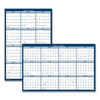 calendars: House of Doolittle™ Poster Style Reversible/Erasable Yearly Wall Calendar
