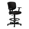 hon chairs: HON - Volt® 5705 Series Adjustable Task Stool with Adjustable Footring