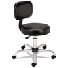 hon chairs: HON - Adjustable Task/Lab Stool with Back