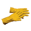 Hospeco General Purpose Flock Lined Latex Gloves - Large HSC GL-L116LL