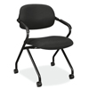 HON VL300 Series Upholstered Nesting Chair with Arms HVL303.MM10.T