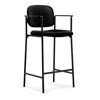 fabricchairs: HON - HVL636 Cafe-Height Stool, Fixed Arms , Set of Two